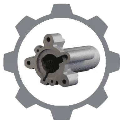thermoplastic gear icon